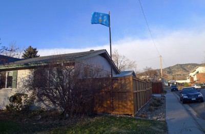 Galician Flag in Colorado, USA