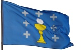 Flag of the Kingdom of Galicia
