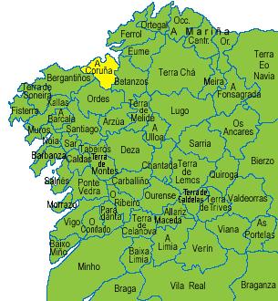 County Corunna, Galicia