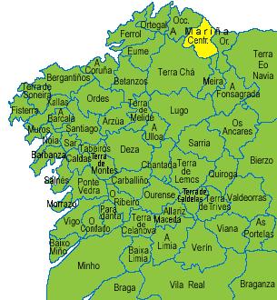 County Mariña Central, Galicia