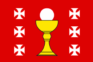 Arms and Flag of Mondonnedo, County Mariña Central, Galicia