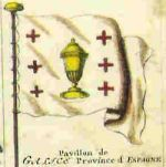 Naval Flag: 'Pavillon de la Galice', 18th century